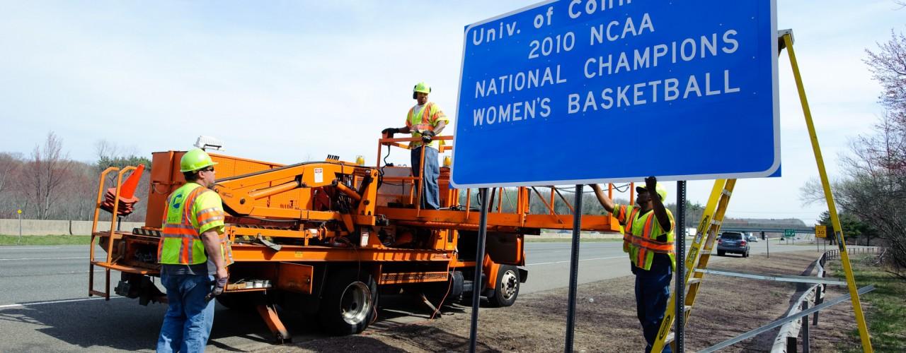 National Champs Sign I-84