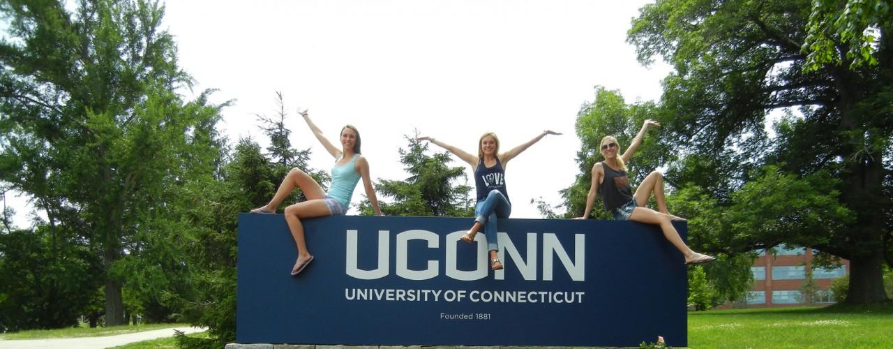 UConn Sign