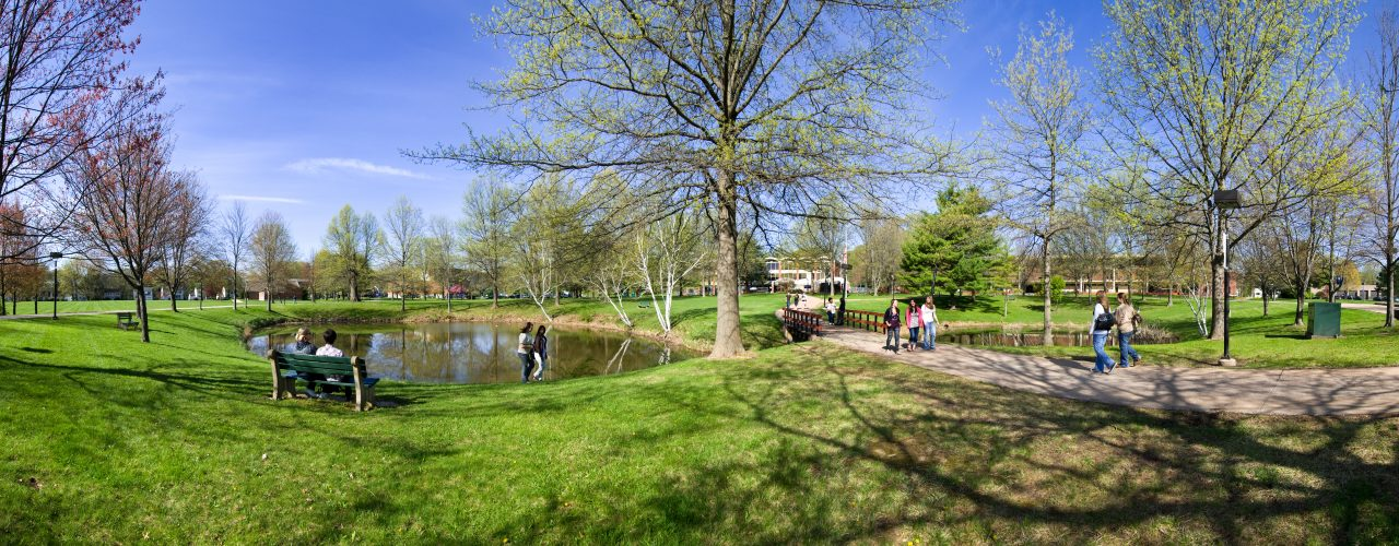 Panoramic view at West Hartford campus