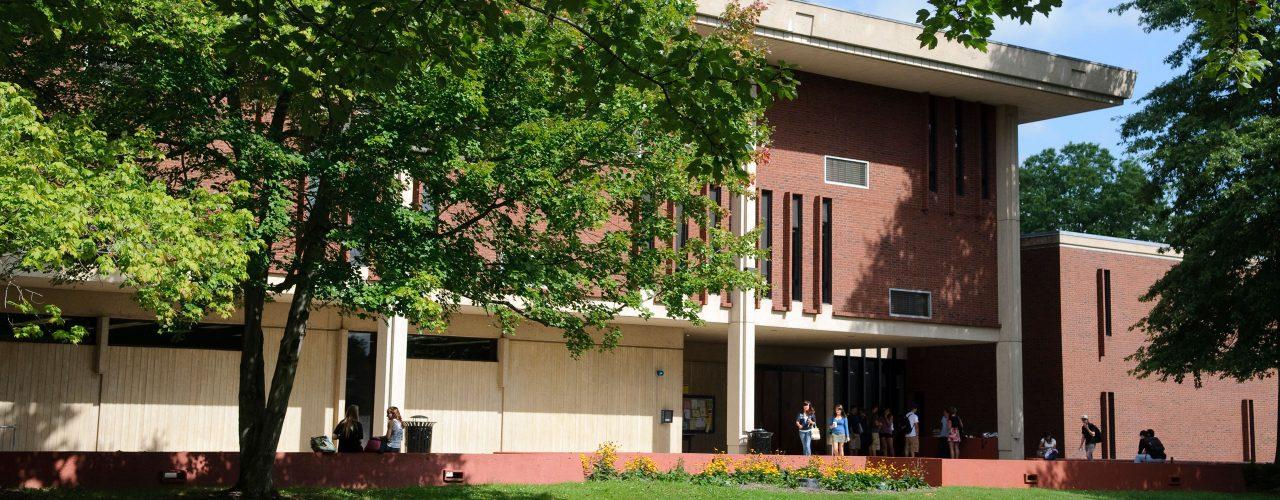 Exterior building at West Hartford campus