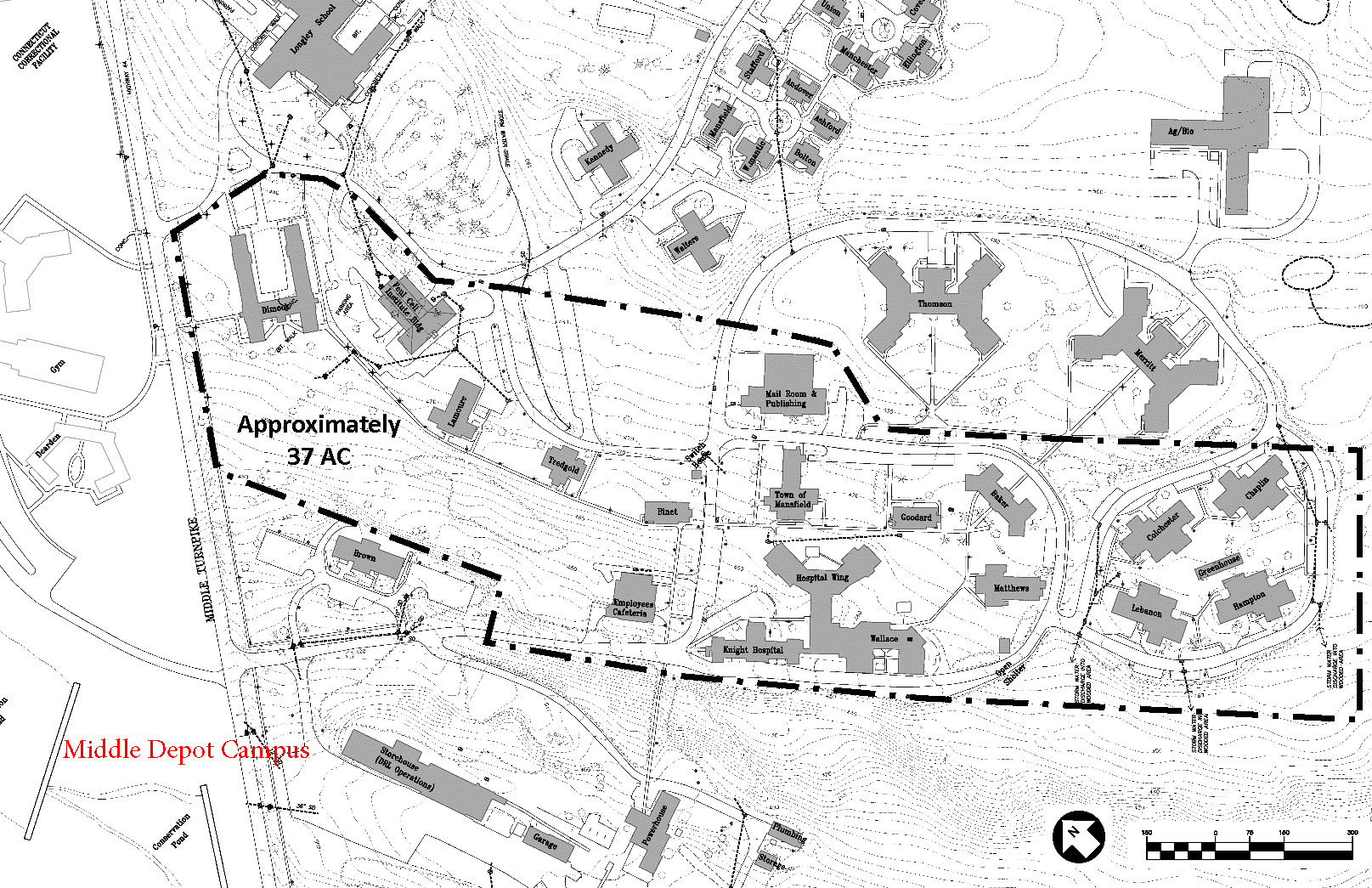 uconn depot campus map Home University Planning Design And Construction